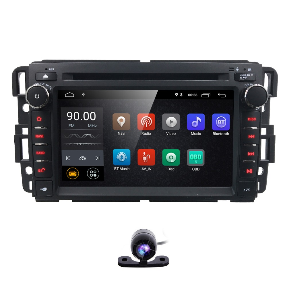 Hizpo 2Din Navigation AutoRaduo Android 8.1 Car Radio For GMC Chevrolet Buick AVALANCHE EXPRESS VAN Touch Screen Mirror Link USB