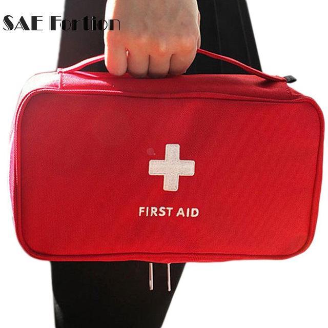 First Aid Bag Kit Emergency Medical Waterproof Car Kits Outdoor Travel