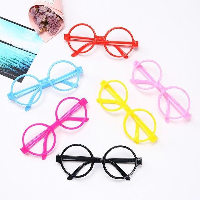 d33d9c4289 Gafas de niñas encantadoras Marco de gafas para niños marco redondo  princesa niña ojos dibujos animados