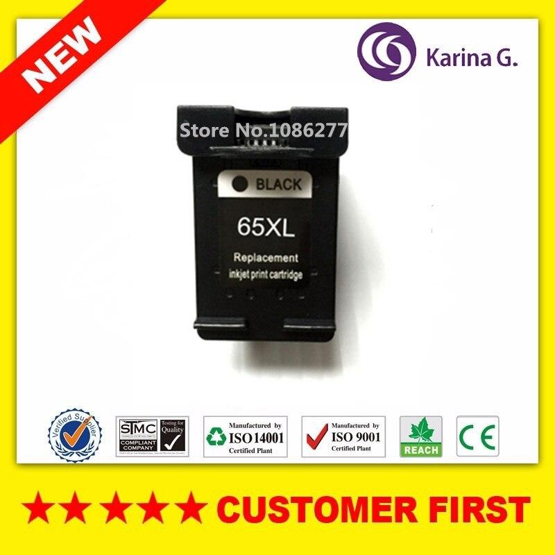 1 PZ cartuccia di inchiostro Rigenerata per HP65 per HP Deskjet 3720 3721 3723 3724 3730 3732 3752 3755 3758 per HP 65