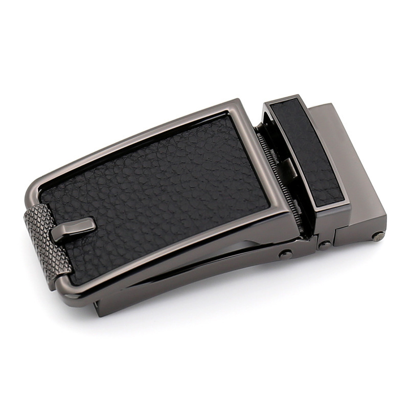 Genuine Men's Belt Head Belt Buckle Leisure Belt Head Business Accessories Buckle Width 3.2CM Belts Men High Quality LY132318