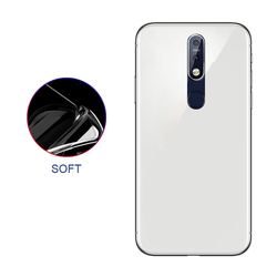 На Алиэкспресс купить чехол для смартфона gorgeous ultra-thin anti-fall phone shell for nokia 6.1 plus all-inclusive transparent protective case contracted