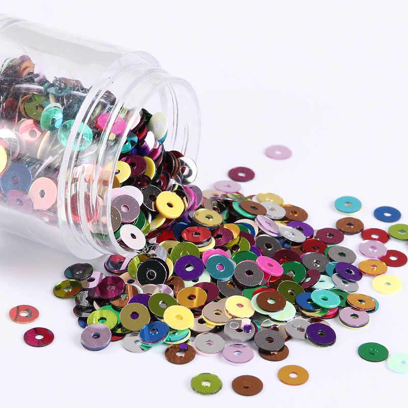3 мм 4 мм 5 мм 6 мм, плоские круглые ПВХ свободные блестки шитье ремесло для свадебного украшения одежды платье колпачки для обуви DIY аксессуар