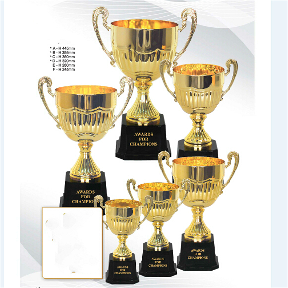 New 24 Cm Metal Trophy Big Ears Badminton Match The NBA Cup Champions League Golf Crystal In Sports Souvenirs From Entertainment On