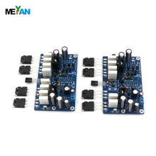 2 PCS Assembled L20 Hi-end (2 channel) Audio stero power amplifier board 200W 8R V9.2