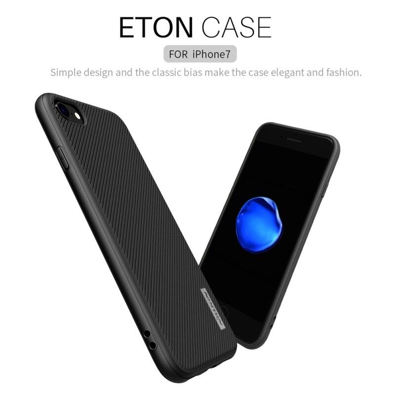 imágenes para Coque para iPhone 7 Caso de NILLKIN ETON Sarga Grano PC TPU teléfono Casos para el iphone 7 funda Cubierta con Una Función de Hoja Magnética bolsa