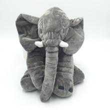CAMMITEVER  Elephant CushionPlush Pillow Animal Toys Cute Elephants Doll Toy for Children Girl Kids Home Pillows Sofas