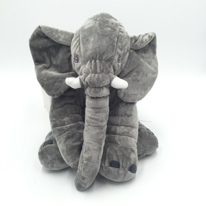 Image 1 - Cammitever 코끼리 쿠션 플러시 베개 동물 완구 귀여운 코끼리 인형 장난감 어린이 소녀 키즈 홈 베개 소파