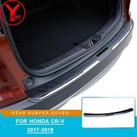 ABS rear step bumper covers for honda crv cr v 2017 2018 bumpers car parts auto accessories for honda crv 2017 2018 2019 YCSUNZ