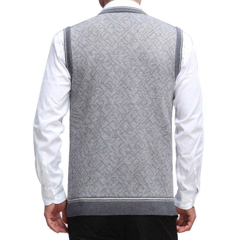 Wollen Trui Kopen Heren.Goede Kopen Eichos Heren Trui Vest Wollen Mouwloze Homm Casual Knit
