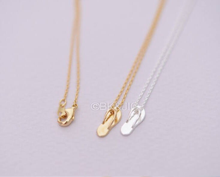 Wholesale trendy gold silver personalized slipper necklace high wholesale trendy gold silver personalized slipper necklace high quality hunger games shoes pendant necklace women best friend in pendant necklaces from aloadofball Image collections