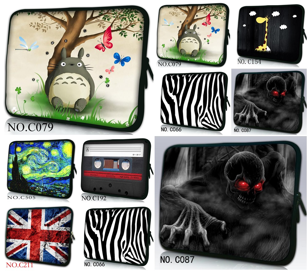 Brand New Fashion Universal 7 10 12 13 Portable Laptop Bag Carry Cases Sleeve Netbook Cover Pouch 15 15.6 Computer Accessories