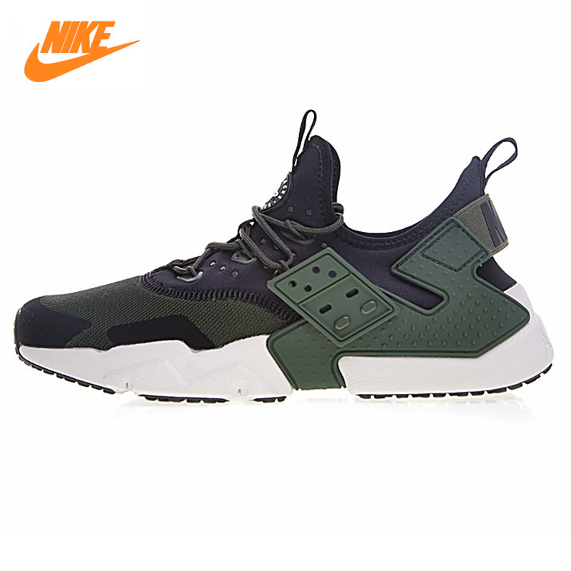 NIKE Air Huarache Drift Prm Men's Running Shoes,Men's Orignal Sneakers Comfort Sport Shoes,lifestyle Low Army Green AH7334 300
