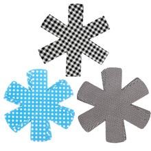 3pcs/lot Pan Protectors Pot Holders Table Placemat Cup Coasters Plate Mat Heatproof Non-woven Cloth