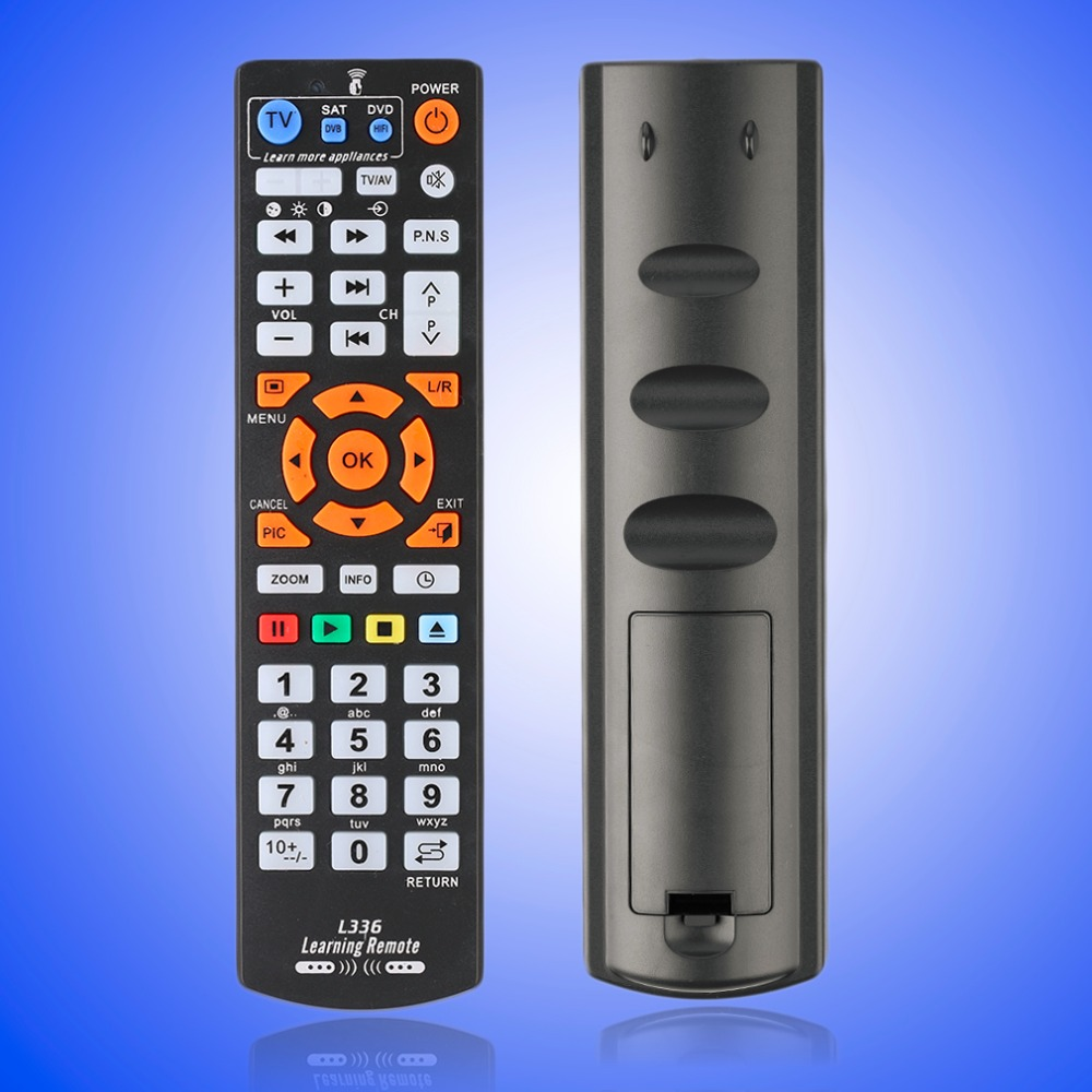 Universal Smart Remote Control Controller With Learning Function For TV CBL DVD SAT For Chunghop L336 Drop Shipping