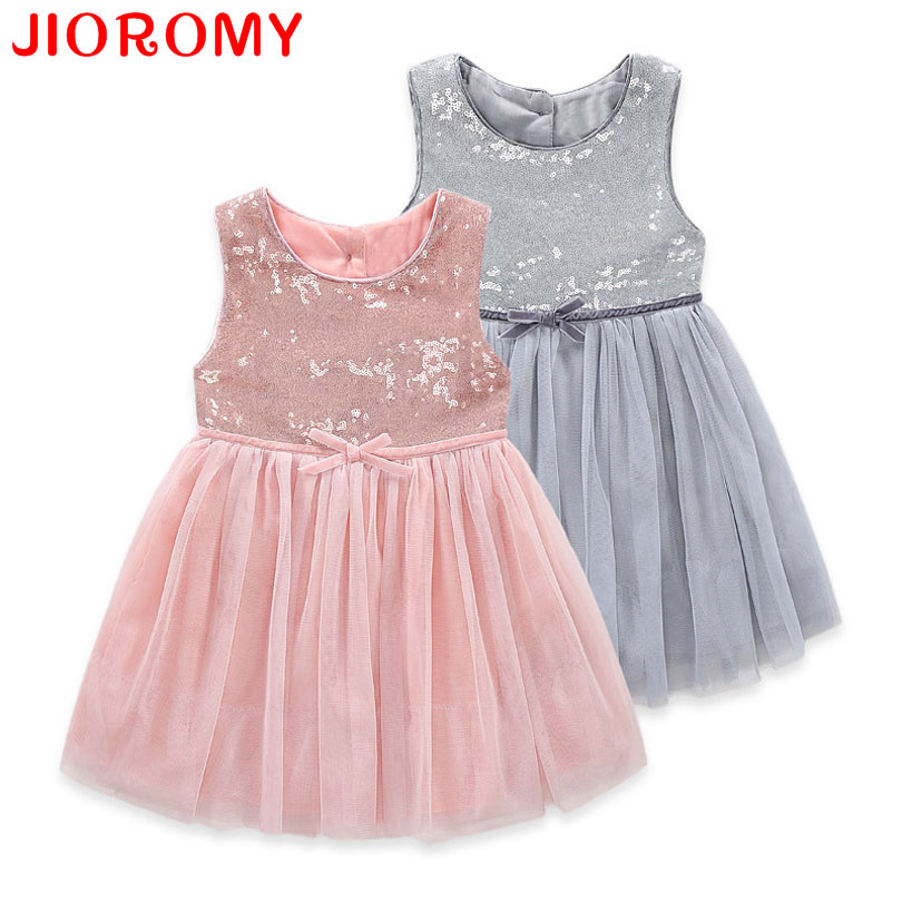 2017 New Arrivals Girl Dresses Fashion Princess Party Birthday Gift Brand High Quality Sleeveless Summer Kids Clothes k1 new high quality fashion excellent girl party dress with big lace bow color purple princess dresses for wedding and birthday