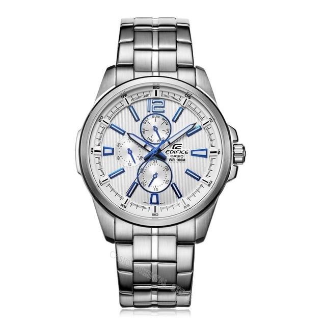 3e88e724678 Relógio Casio edifice 2017 negócios Relógios Homens Marca De Luxo Relógios  de Quartzo Relógio de Pulso