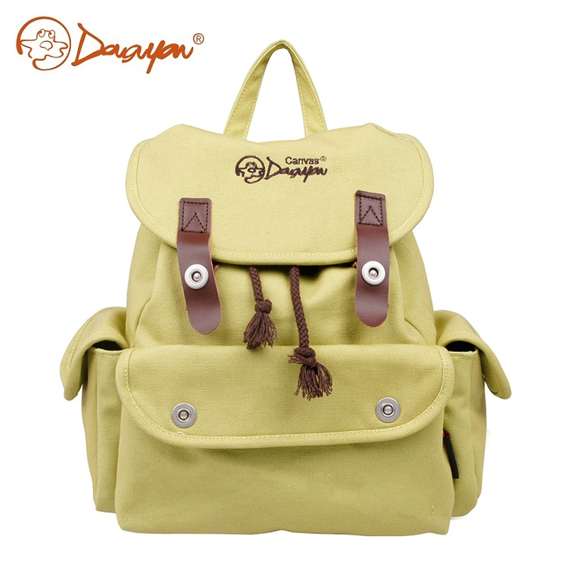 Douguyan Backpacks For Women Shoulder Travel Bag Female Fashion Casual Green Backpack Teenage Girls School Bag