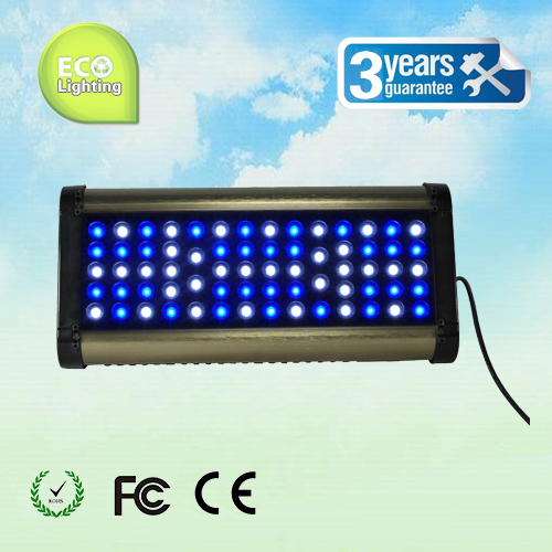 Phantom LED aquarium light 200W, with remote control dimming& timing, blue: white =1:1/ 2:1/ 1:2, for coal reef, customizable