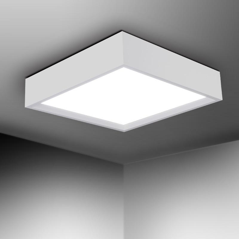 Led Deckenleuchte Square Style Licht Decken Kreative LED Panel Lampe Moderne  Led Lampe Schlafzimmer Wohnzimmer Schlafzimmer Hängeleuchten