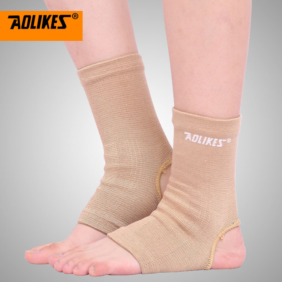 AOLIKES 1Pair Ankle Support Brace Product Foot Basketball Football Badminton Anti Sprained Ankles Warm Nursing Care Men Women