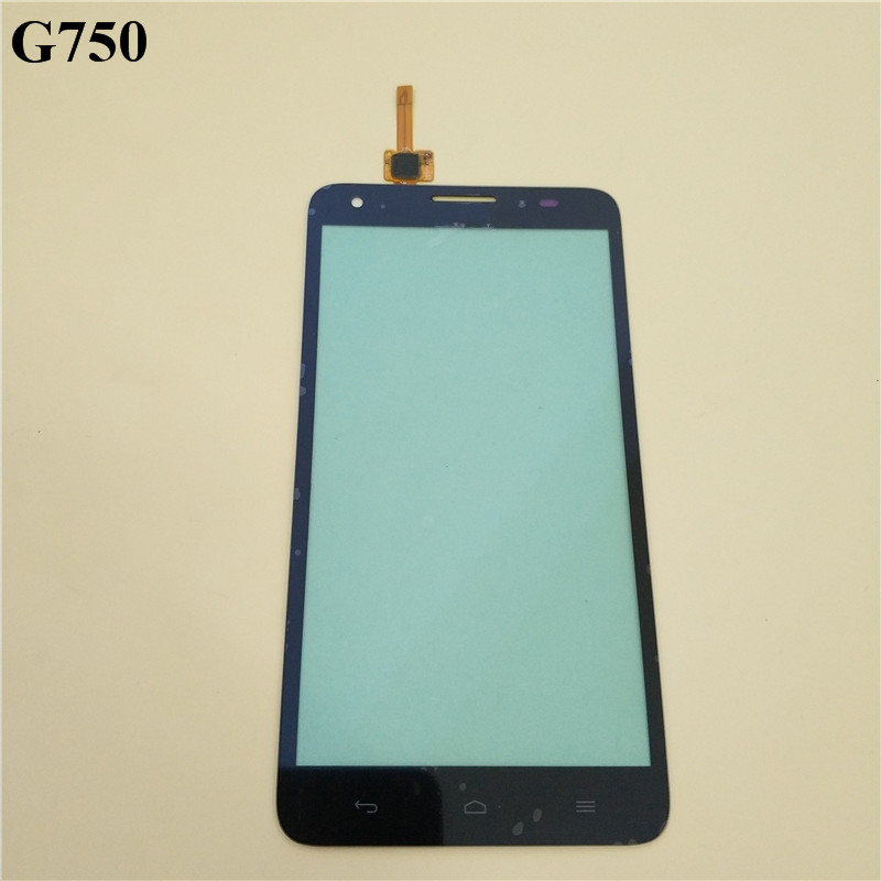 For Huawei Honor 3X G750 Touch Screen Ascend G750 Mobile Phone Touch Panel Glass With Digitizer Black White