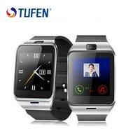 Tufen GV18 الرجال النساء ووتش دعم بطاقة sim الذكية ديل مكالمة smartwatches ووتش الهاتف لالروبوت ويندوز الهاتف pk dz09 gt08 a1