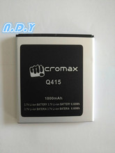 New High Quality Micromax Q415 1800mAh Li-ion Battery for Micromax  Q415 Mobile phone купить недорого в Москве