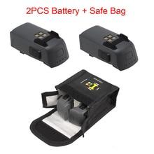 2PCS For DJI Spark Drone Intelligent Flight Battery & Spark Battery Safe Bag Futural Digital Drop Shipping JULL25