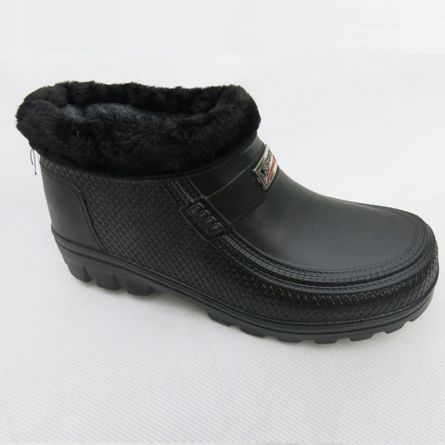 Winter Men And Womenu0027s Snow Boots Elderly Outdoor Waterproof Rainboots  Kitchen Warm Plush Shoes Ultra Light