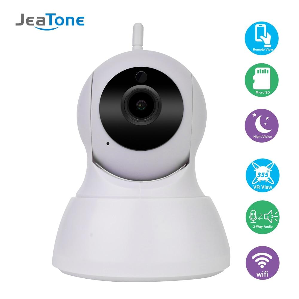 JeaTone Home Security 720P IP Camera Wireless Smart WiFi Camera WI-FI Audio Record Surveillance Baby Monitor HD Mini CCTV Camera