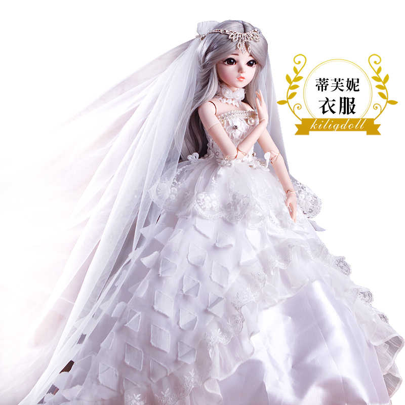 BJD 60 см игрушки куклы Одежда высшего качества китайские куклы 18 совместных БЖД шаровой шарнир куклы модная одежда для девочек подарок Тиффани