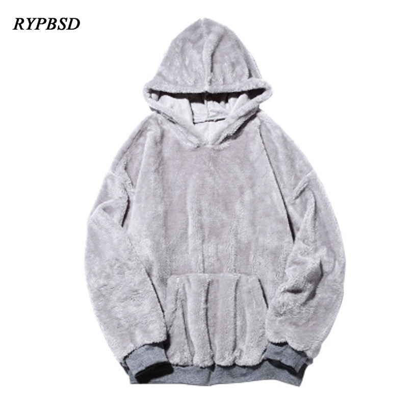 Winter Sweatshirt Men Hoodie Coat Plus Velvet Hooded Hoodies Thick Tracksuit Casual Warm Mens Hoodie Hooded Sweatshirt
