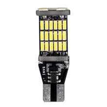 цена на 2Pcs T15 W16W LED Reverse Light Bulbs 920 921 912 Canbus 4014 45SMD Highlight LED Backup Parking Light Lamp Bulbs DC 12V