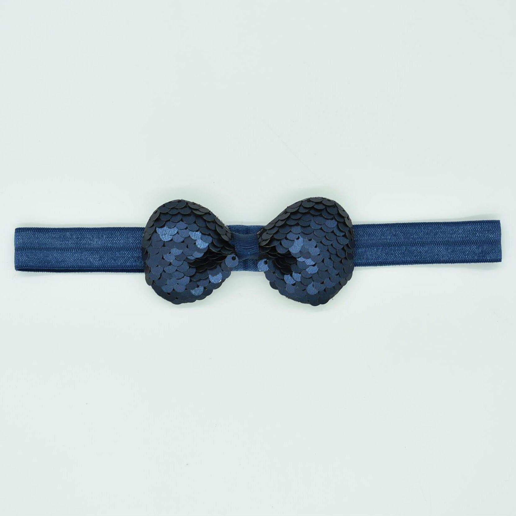 Newborn bow hair headdress popular childrens band multi-layer sequin cute new accessories
