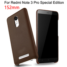 Fashion 152mm Redmi Note 3 3i Pro SE Coque Phone Back Cover Case For Xiaomi Redmi Note 3 Pro Prime Special Edition Leather Case