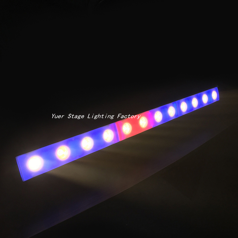 Free shipping 12x3W led wall wash light beam wash 2in1 Party Wedding Events Lighting DMX512 disco light stage effect lighting in Stage Lighting Effect from Lights Lighting
