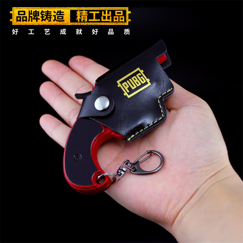 Costume Props Signal Gun Game Playerunknowns Battlegrounds 3d Keychain Pubg Keyring Saucepan Pendant Funny Kids Toy Gun Accessories With A Long Standing Reputation Novelty & Special Use