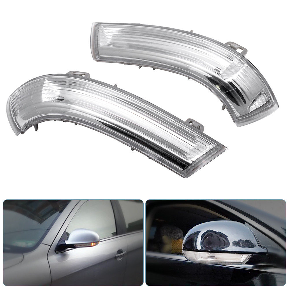 1 Piece Right OR Left Car Rear View Mirror Indicator Auto LED Turn Signal Light Car LED Signal Lamps For VW GOLF MK5