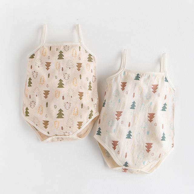 Organic Cotton Baby Romper 2 Pcs Set