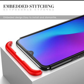 Hard Amor Case For Oneplus 6t - Full Protection 4 Conners and All Around 1