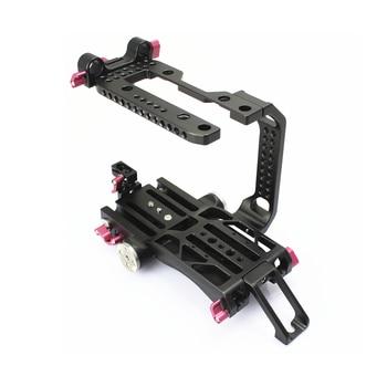 NEW 15mm FS7 Rig Kit Cage Baseplate V dovetail plate for SONY FS7 camera Tilta Movcam Film Video