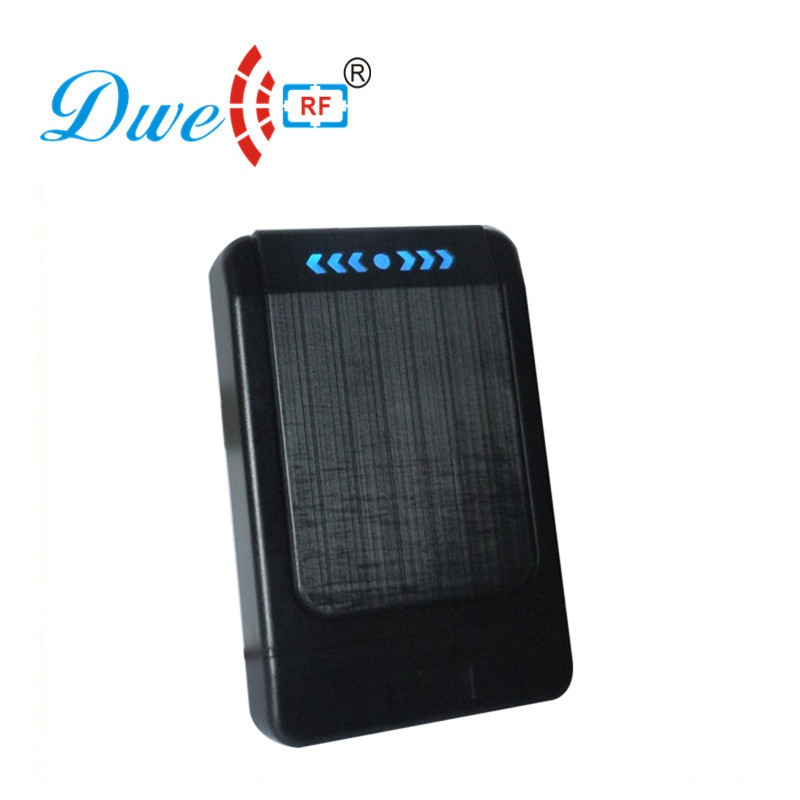 DWE CC RF access control card reader electricity power wiegand protocol black contactless reader aero 500 black card reader 800вт