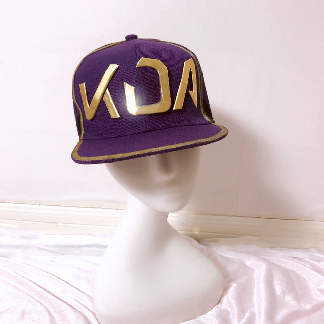 [STOCK] 2018 Game Game LOL KDA Akali Cosplay Hat/Nightlight Mask LOL K/DA Akali Cosplay Prop For Halloween Free Shipping New.  2