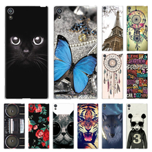 JURCHEN Case For Sony Xperia XA1 Case Silicone Cover For Sony Xperia XA1 Dual Cover 3D Cute Cartoon For Sony XA1 G3112 Coque унитаз duravit starck 3 2227090000 без сиденья