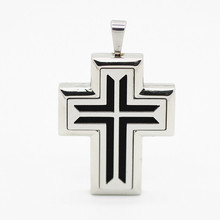 Cross Shape Perfume Locket Essential Oils Stainless Steel Diffuser 5pcs