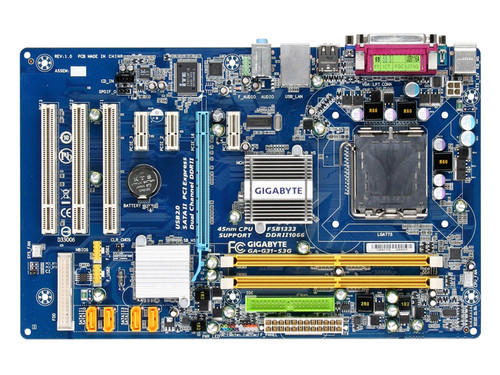 G31 GA-G31-S3G DDR2 A 775 DDR2 USB2.0 VGA motherboard integrated graphics 100% tested perfect quality asus ipm31 support ddr2 775 pin integrated motherboard g31 founder haier original machine