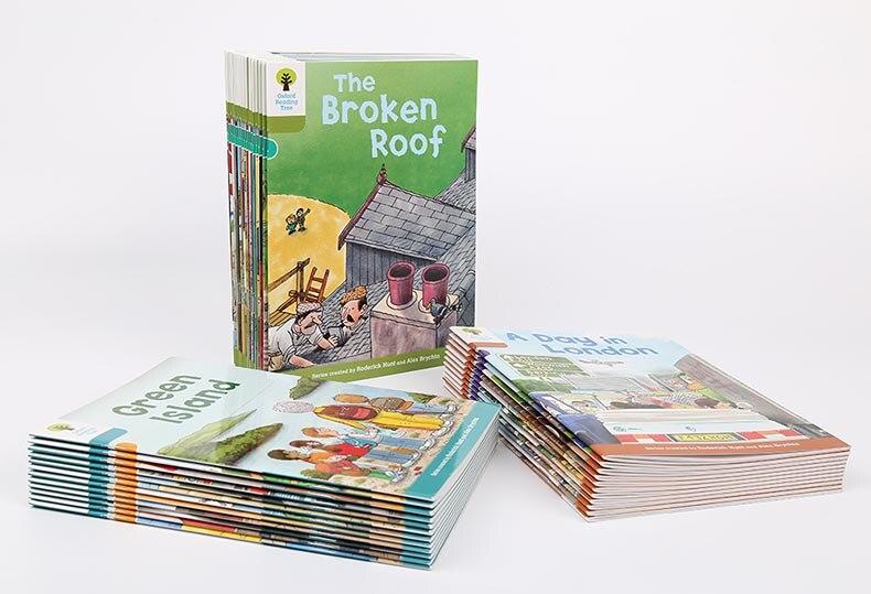1 Juego de 40 libros 7-9 niveles Oxford árbol de Lectura más rico leer fonética inglés historia imagen libro conjunto juguetes educativos - 5