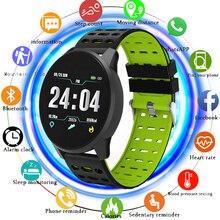 цена на LIGE New Smart Bracelet IP67 Waterproof Bluetooth Sport Watch men Activity fitness Tracker LED Color Screen Smart Wristband