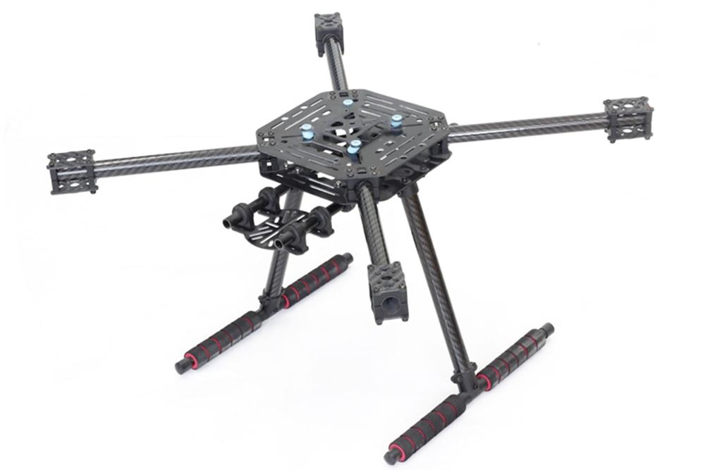 X4 500 de 500mm de fibra de vidrio/fibra de carbono de la placa Quadcopter marco kit con fibra de carbono de aterrizaje de actualización s500 Fit 1147-in Partes y accesorios from Juguetes y pasatiempos    2